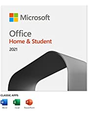 Microsoft Office Home & Student 2021 | 1-device [PC/Mac Online Code]