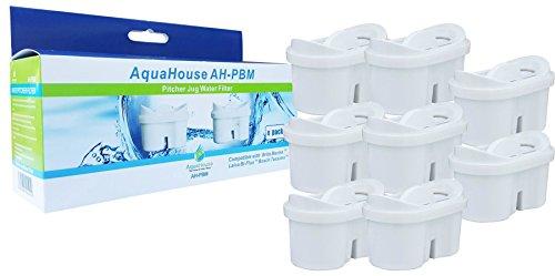 AquaHouse filtros de cartucho compatibles con Aqua Optima Evolve + Brita Maxtra - 8 unidades