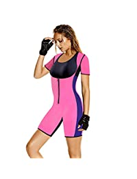 Queenral Hot Sweat Slimming Neoprene Pants Vest Body Shapers for Weight Loss