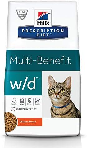 Hill's Prescription Diet w/d Multi-Benefit Digestive/Weight/Glucose/Urinary Management Cat Food