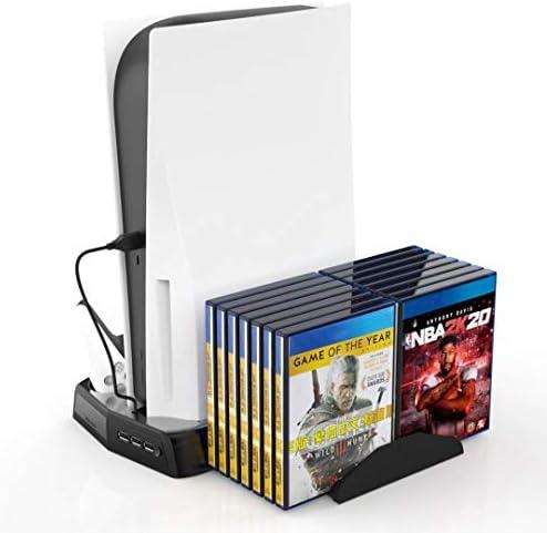 Soporte vertical para controladores PS5 con