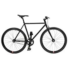 Retrospec Mantra Fixie Bicycle with Sealed Bearing Hub, s and Headlamp
