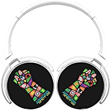 6Dian Avengers Infinity War Pop Art Headphones Over-ear Stereo Fold Wireless Bluetooth Earphone White