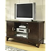 Somerton Dwelling 416-29 Cirque TV Console, Dark Chocolate