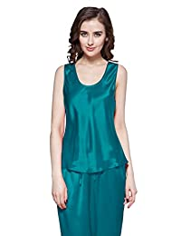 LILYSILK 100% Pure Womens Silk Camisole Tank Top for Summer Office lady