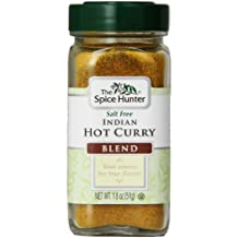 The Spice Hunter Curry, Hot, Indian, Blend, 1.8-Ounce Jar