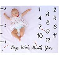 "Your Inch Baby Milestone Blanket – 40 x 50"" – Displays..."