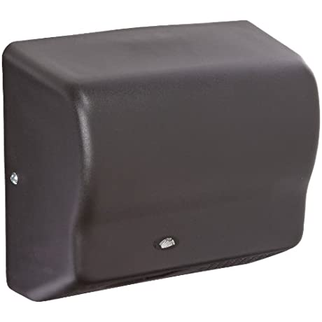 American Dryer Global GX1 BG Steel Cover Automatic Hand Dryer 110 120V 1 500W Power 50 60Hz Black Graphite Finish