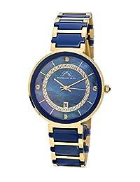 Porsamo Bleu Alexandra Stainless Steel and Ceramic Two Tone Women's Watch 792BALC