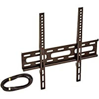 Vanco K201GSX 5-In-1 Flat Panel Wall Mount Kit for 23 to 46 TVs, Black