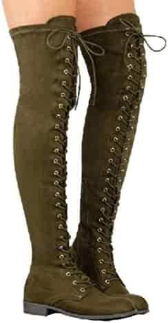 0514575db8bc8 Shopping Green - Boots - Shoes - Women - Clothing, Shoes & Jewelry ...