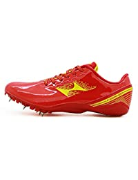 HEALTH Womens Mens Sprint Track & Field Shoes Spike Running Professional Sports Shoes 199