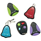 Click 'n Dig Model E4 Key Finder. 4 Receivers. Wireless RF Remote Item, Wallet Locator by Click n dig