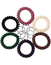 Stretchable Wristband Wristlet Keychain Spring Flexible Spiral Bracelet Wrist Coil Key Holder Key Ring