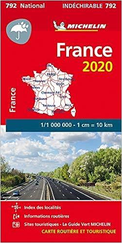 Mapa National France