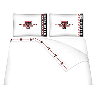 NCAA Texas Tech Red Raiders Micro Fiber Sheet Set (Full)