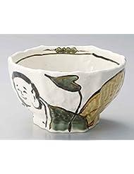 Hotei Hexagon 7 1inch Set Of 5 Ramen Bowls White Porcelain Made In Japan