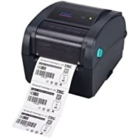 TSC 99-059A004-20LF Desktop Thermal Transfer Barcode Printer,TC300, 300 dpi, 4 IPS, Ethernet/USB/Serial/Parallel, Navy