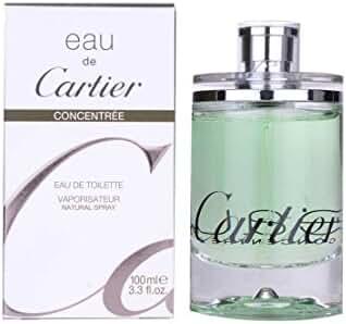 Eau de Cartier Concentree for Men and Women by Cartier Eau De Toilette Spray 100ml 3.3oz