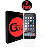landrovar iPhone 7 Screen Protector, 2Pack 9H Hardness, 0.3mm Ultra Clear HD Transparency, 2.5D Rounded Edges, Oleophobic Coating Tempered Glass Film for iPhone 7 (4.7 Inch)