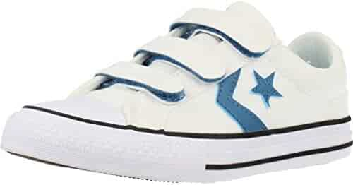 3969005478d0db Converse Youth Star Player 3V Ox Canvas Trainers