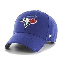 '47 B-MVP26WBV-HM-OSF MLB Toronto Blue Jays MVP Adjustable Hat, Royal, Royal, One Size