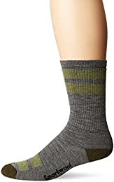 Men's Striped Hike Medium Crew Socks - Past Season