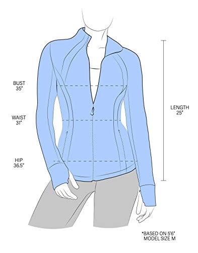 90 Degree By Reflex Women's Lightweight, Full Zip Running Track Jacket - Shadow Petal - Large