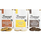 Dewey's Bakery Soft Baked Bliss Cookie Variety Pack | Baked in Small Batches | Real, Simple Ingredients | Real, Simple Ingredients | Southern Bakery Recipes | Pack of 3 6-oz Bags
