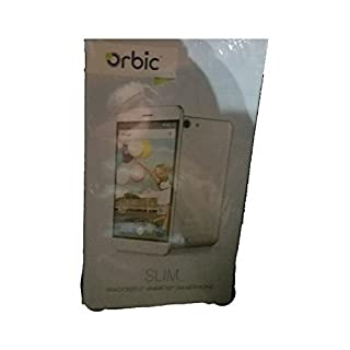 Orbic RC501LS Slim Unlocked 5 Android Smartphone Silver
