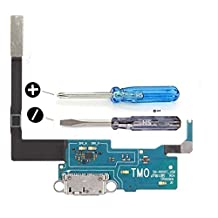Dock Connector for Samsung Galaxy Note 3 N900T T-MobileUSB Flexkabel with adhesive underside incl. 2 x screwdriver for easy installation by MMOBIEL