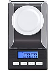 Hoge precisie digitale sieradenweegschaal gram weegschaal gewicht elektronische weegschaal 10 g / 20 g / 50 g / 100 g 0,001 g 10g/10.001g+Weight