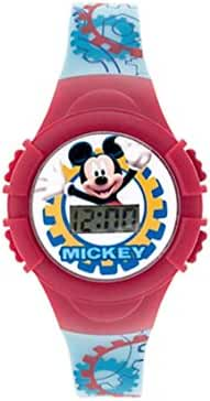 Disney Red Mickey Mouse Clubhouse LCD Watch