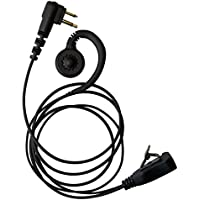 IMPACT Brand 1-Wire Over the Ear Earpiece for Motorola CP200 CP125 CLS1410 CLS1110