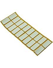 Antirutsch Pads aus EPDM/Zellkautschuk,verschiedene Größen, weiß, selbstklebend, Top-Qualität (2.5 mm)