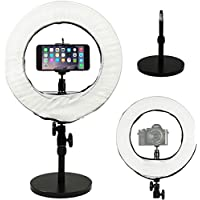 Prismatic 14 Mini Halo Ring Light with Weighted Light Stand