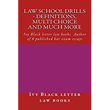 Law School Drills - Definitions, multi choice and much more: Normalized Partial Reading Allowed