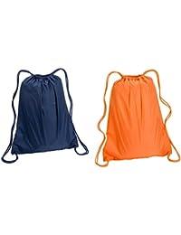 Large Sport Drawstring Backpack Bags Set