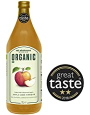 Eat Wholesome Organic Raw Apple Cider Vinegar with The Mother, 1L