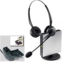 Jabra GN9125 Flex Mono Convertible Single Earpiece Over the Head / Ear Wireless Headset for Deskphone (Certified Refurbished)