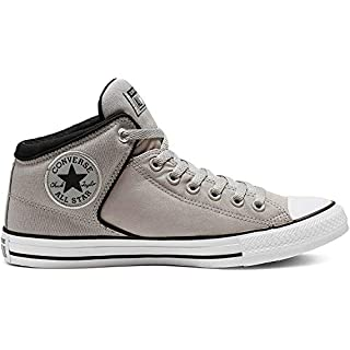 Converse Men's Chuck Taylor All Star High Street Space Explorer Sneaker, Dolphin/Black/White, 8 M US
