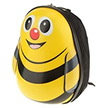 Generic Cute Cartoon Toddler Hard Shell Backpack Rucksack Shoulder Bag-Bee