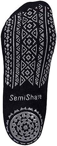 Yoga Grip Socks for Woman,Pilates Socks Non-Slip Barre Sticky Socks for Dance