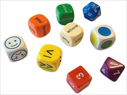 DICE PACK PACK OF ALL DIFFERENT DICE Mini Flashcards Language Games: Amazon.es: AA.VV: Libros en idiomas extranjeros