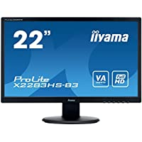 iiyama 21.5 Inch Wide LCD Display ProLite X2283HS-3 (Marvel Black)【Japan Domestic genuine products】 【Ships from JAPAN】