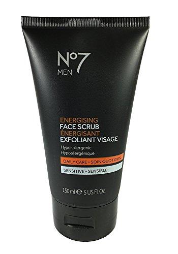 Boots No7 Men Energising Face Scrub 5 fl oz