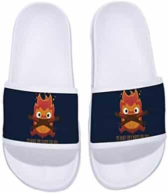 Ron Kite Boys Girls Anti-Slip Bath Slippers Shower Shoes Indoor Floor Slipper Stylish Beach Sandals Bone