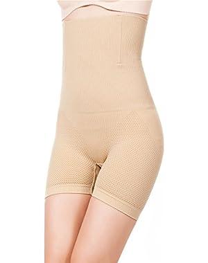 Womens Shapewear Tummy Control Shorts Brilliance High-Waist Panty Mid-Thigh Body Shaper Bodysuit $49.99