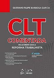 CLT Comentada - de acordo com a Reforma Trabalhista