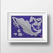 Rasca Mapa de las Zonas Arqueológicas de México